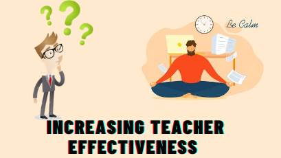 Increasing Teacher Effectiveness